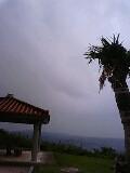 沖縄  曇り空